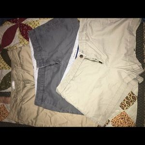 3 pairs of shorts, great condition all size 12